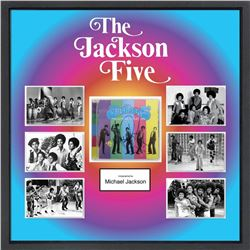 Jackson Five Signed Photo Collage