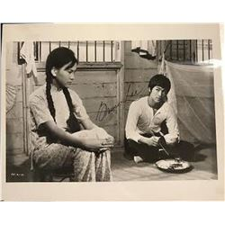 """Bruce Lee """"Fist of Fury"""" Signed Photo"""