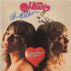 """Heart """"Dreamboat Annie"""" Signed Album"""