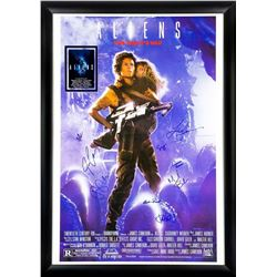 ALIENS Signed Movie Poster