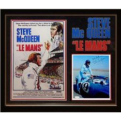 Steve McQueen Signed Photo Collage