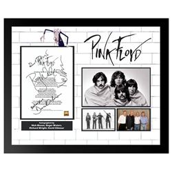 Pink Floyd Another Brick In The Wall Signed Lyrics