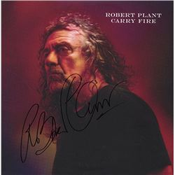 "Robert Plant ""Carry Fire"" Signed Album"