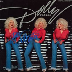 "Dolly Parton ""Here You Come Again"" Signed Album"