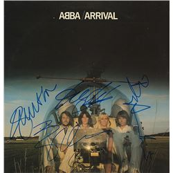 Abba Band Signed Arrival Album