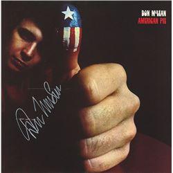 "Don McLean ""American Pie"" Signed Album"