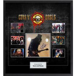 Guns N Roses Collage Signed by Slash