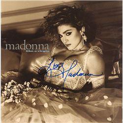 """Madonna """"Like A Virgin"""" Signed Album"""