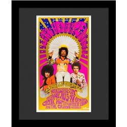 "Bob Masse ""Jimi Hendrix"" Framed Poster"