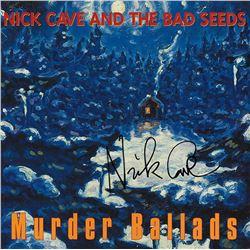 """Nick Cave """"Murder Ballads"""" Signed Album"""