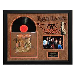 """Aerosmith """"Toys in the Attic"""" Signed Album"""