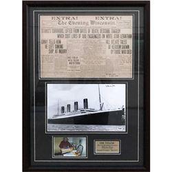 Titanic Last Living Survivor Signed Photograph