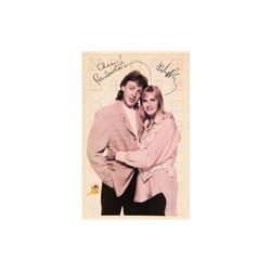 Paul and Linda McCartney Signed 11x16 Photo