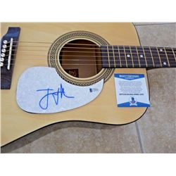 Beckett Bon Iver Justin Vernon Signed Acoustic Guitar