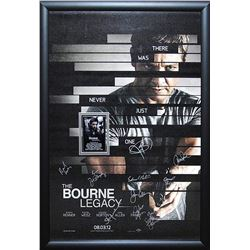 Bourne Legacy Signed Movie Poster