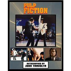 "John Travolta ""Pulp Fiction"" Signed Collage"