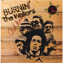 """Bob Marley """"Burnin'"""" Signed Album"""