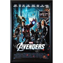 Avengers Signed Movie Poster