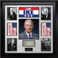 President Dwight D. Eisenhower Signed Dollar