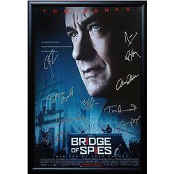 Bridge Of Spies Signed Movie Poster