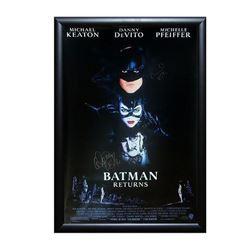Batman Returns Signed Movie Poster