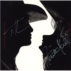 """Tim McGraw and Faith Hill """"The Rest Of Our Life"""" Signed Album"""
