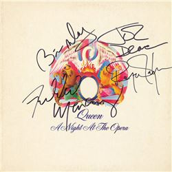 """Queen """"A Night at the Opera"""" Signed Album"""