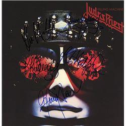 """Judas Priest """"Killing Machine"""" Signed Album"""