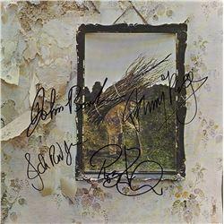 """Led Zeppelin """"Led Zeppelin IV"""" Signed Album"""