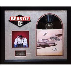 "Beastie Boys ""License to Ill"" Signed Album"