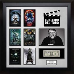 Guillermo del Toro Signed US Dollar Note Collage