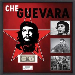 Che Guevara Signed US Silver Certificate Collage