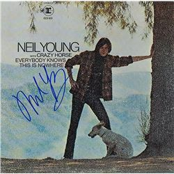 """Neil Young """"Everybody Knows This Is Nowhere"""" Signed Album"""