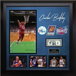 Charles Barkley Signed US Dollar Note Collage