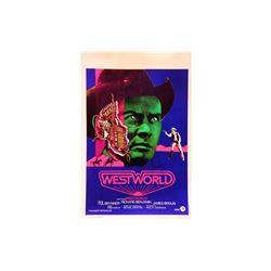 Westworld' Signed Lobby Card