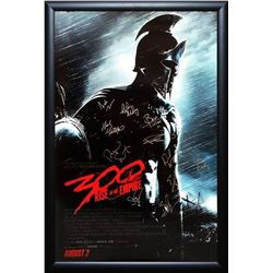 300: Rise of an Empire Signed Movie Poster