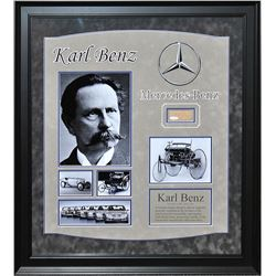 Karl Benz Autographed Collage