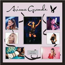 Ariana Grande Signed Collage