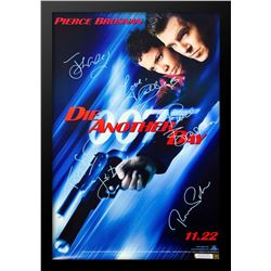 "James Bond ""Die Another Day"" Signed Movie Poster"