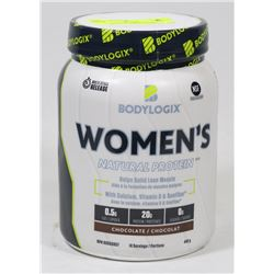 BODYLOGIX WOMEN'S NATURAL PROTEIN, 448G, CHOCOLATE
