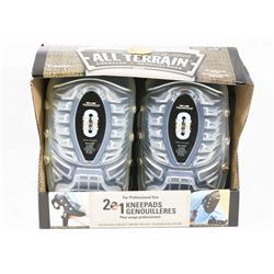 NEW! TOMMYCO 2in1 ALL TERRAIN GEL KNEE PADS