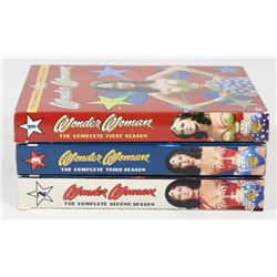 WONDER WOMAN DVD SEASONS 1-3.