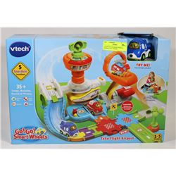 VTECH GO! GO! SMART WHEELS INTERACTIVE AIRPORT.
