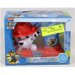 PAW PATROL TOOTHBRUSH SMILE SET.