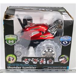 THUNDER TUMBLER RC 360 DEGREE RALLY CAR.