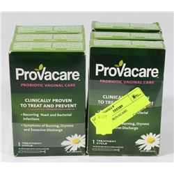 LOT OF 6 PROVACARE.