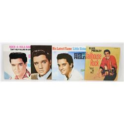 LOT OF 4 ELVIS DUST JACKETS FOR 45'S