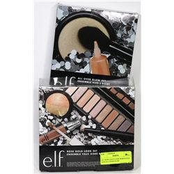 ELF ROSE GOLD LOOK MAKEUP SET AND ALL OVER GLOW