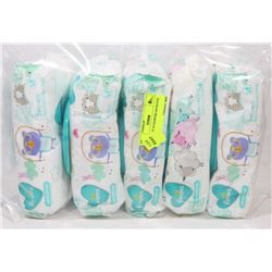5 PACKS OF 56 PAMPERS SENSITIVE WIPES