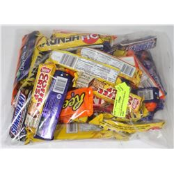 BAG OF ASSORTED CHOCOLATE BARS